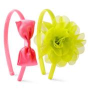 Okie Dokie® 2-pk. Chiffon Flower Headbands