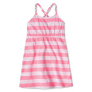 Arizona Striped Sleeveless Sundress - Girls 12m-6y