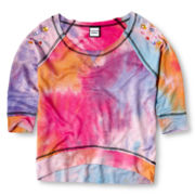 Flowers by Zoe by Kourageous Kids Splatter Sweatshirt  - Girls 6-16