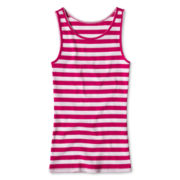 Arizona Ribbed Tank Top - Girls 6-16 and Plus