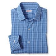 IZOD® Gingham Long-Sleeve Dress Shirt - Boys 6-20