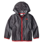 adidas® Windbreaker Jacket - Boys 2t-7x