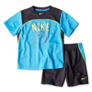 Nike® Basketball Tee and Shorts Set - Boys 4-7