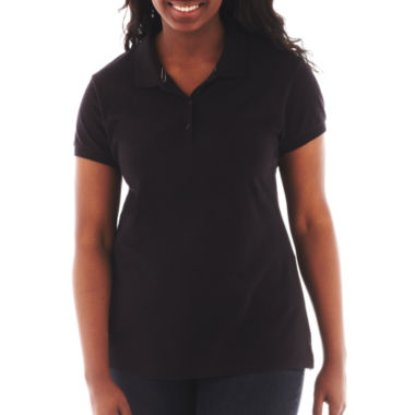 jcpenney.com | Arizona Short-Sleeve Polo Shirt - Juniors Plus