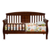 DaVinci Elizabeth II Convertible Toddler Bed - Espresso