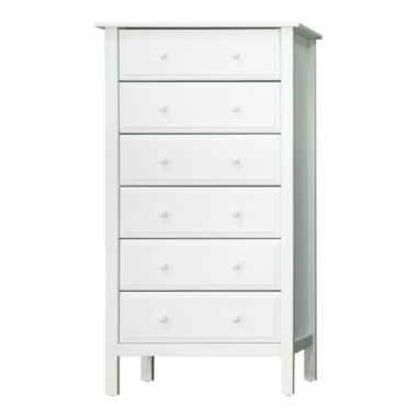 jcpenney.com | DaVinci Jayden 6-Drawer Tall Dresser - White