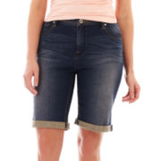 a.n.a® Bermuda Shorts - Plus