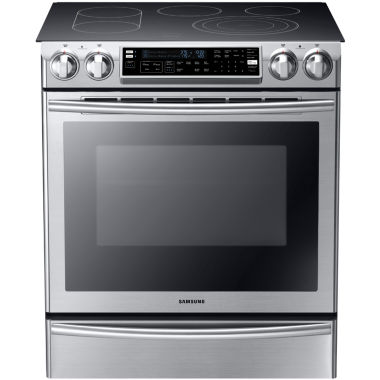 jcpenney.com | Samsung 5.8 Cu. Ft. Slide-In Electric Range with Flex Duo® Oven