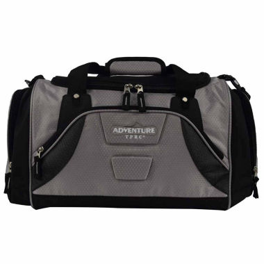 jcpenney.com | Travelers Club Adventure Redwood 2-section Drop-bottom Rolling Duffel