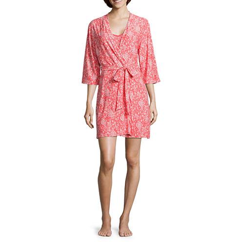 Rene Rofe 504347-2884 Nightgown + Robe Set
