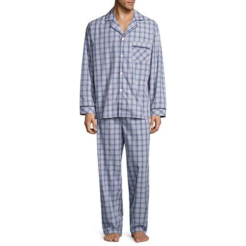Stafford Broadcloth Pajama Set - Big & Tall