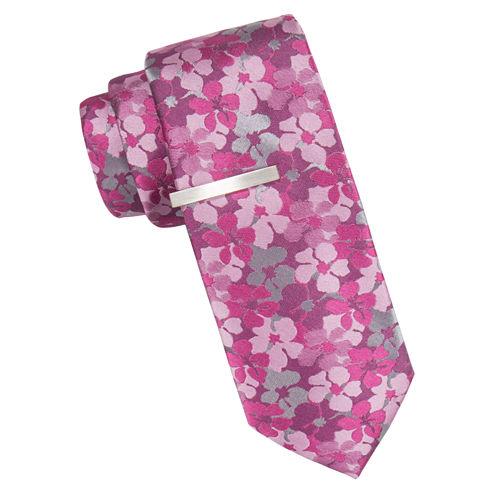 J.Ferrar Floral Tie