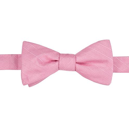 J.Ferrar Stripe Bow Tie