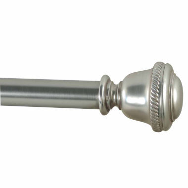 "jcpenney.com | JCPenney Home Perilla 1⅛"" Single Curtain Rod"