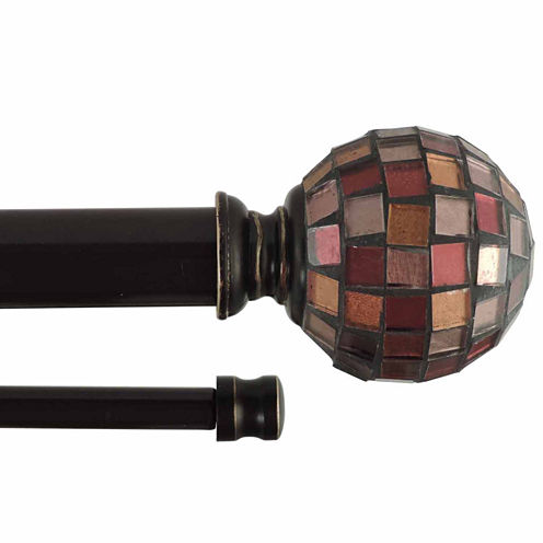 JCPenney Home Mosaique Double Curtain Rod