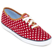 Keds® Champion Polka-Dot Canvas Sneakers