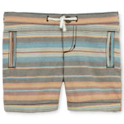 Arizona Striped Oxford Shorts - Boys newborn-24m