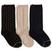 Gold Toe® 3-pk. Fashion Dress Socks - Boys