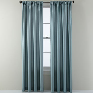 jcpenney.com | Studio™ Finley Rod-Pocket/Back-Tab Curtain Panel