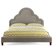 Happy Chic by Jonathan Adler Crescent Heights Velvet Upholstered Bed