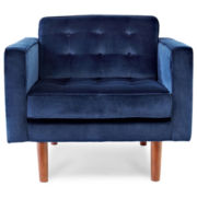 Happy Chic by Jonathan Adler Crescent Heights Tufted Chair