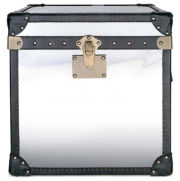 "Victoria Stainless Steel 21"" Trunk"
