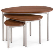 Fisher 3-pc Nesting Tables