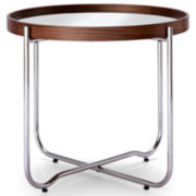 Happy Chic by Jonathan Adler Bleecker Mirrored End Table