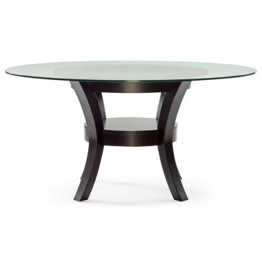 jcpenney.com | Porter Round Glass Dining Table