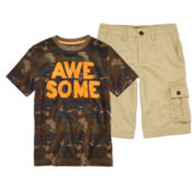 Arizona Graphic Tee or Cargo Shorts – Boys 8-20