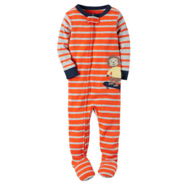 jcpenney.com | Carter's Boys Long Sleeve One Piece Pajama-Toddler
