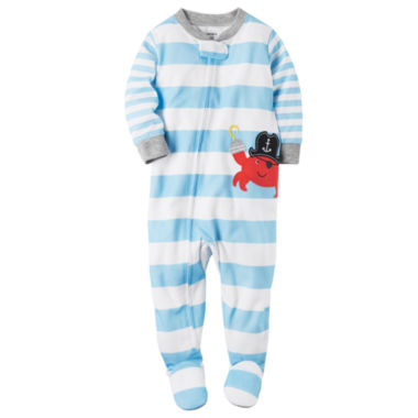 jcpenney.com | Carter's Long Sleeve One Piece Pajama-Toddler Boys