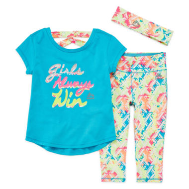 jcpenney.com | Rbx Girls 3-pc. Legging Set-Toddler
