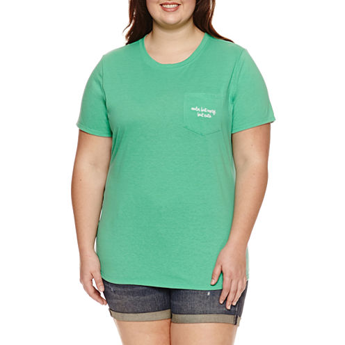 "Arizona ""Cute, but Crazy, but Cute"" Graphic T-Shirt- Juniors Plus"