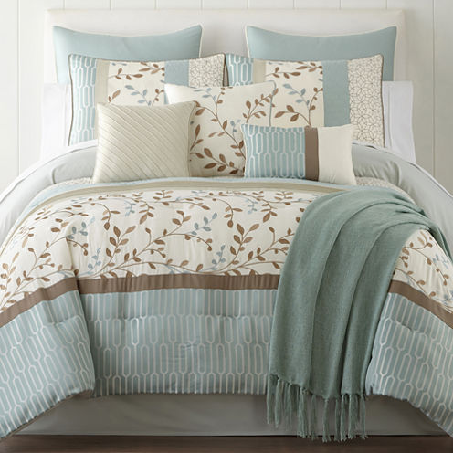Home Expressions Hampton 10 Pc Comforter Set Jcpenney
