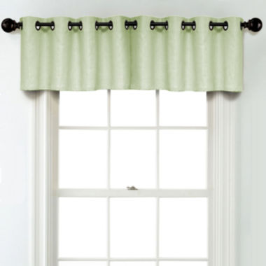 jcpenney.com | JCPenney Home Linen Rod Pocket Unlined Tailored Valance