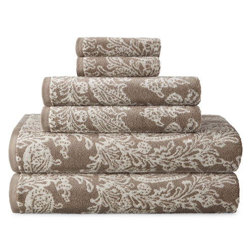 JCPenney Home™ Savannah 6-pc. Towel Set