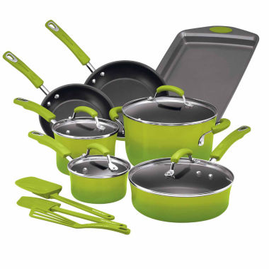 jcpenney.com | Rachael Ray 14-pc. Aluminum Cookware Set