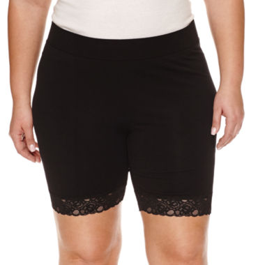 jcpenney.com | Ashley Nell Tipton for Boutique + Jersey Soft Shorts-Plus