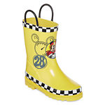 umbrellas + rain boots