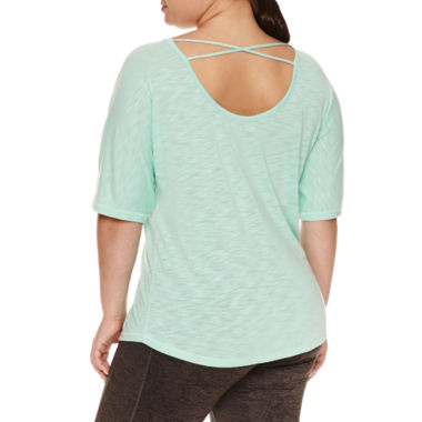 jcpenney.com | Xersion Short Sleeve Scoop Neck T-Shirt-Plus
