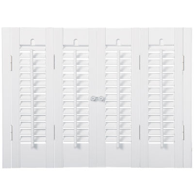 Jcpenney Home Faux Wood Traditional Shutters 4 Panels Jcpenney