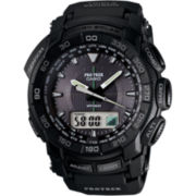 Casio® Pro Trek Mens Triple Sensor Solar Watch PRG550-1A1CR