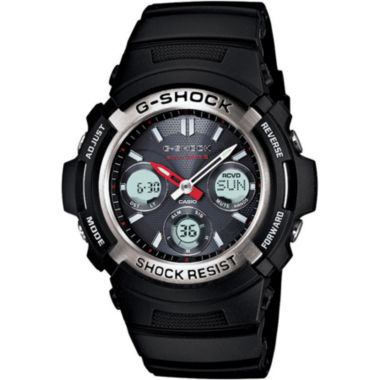 jcpenney.com | Casio® G-Shock Mens Multi Band 6 Solar Watch AWGM100-1ACR