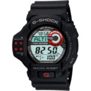 Casio® G-Shock Mens Twin Sensor Black Multifunction Watch