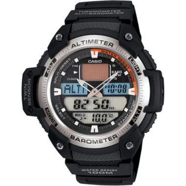 jcpenney.com | Casio® Mens Twin Sensor Watch SGW400H-1B