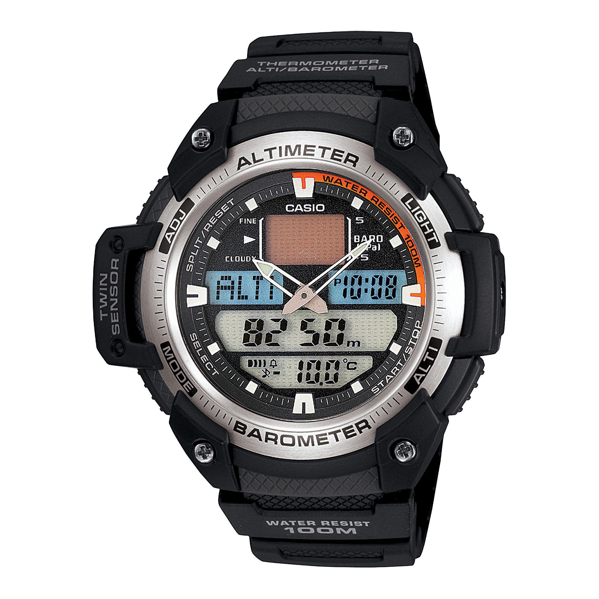 Casio Mens Twin Sensor Watch SGW400H-1B