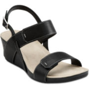Clarks® Alto Disco Wedge Sandals