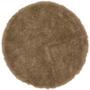 Round Shag Bath Rug Collection