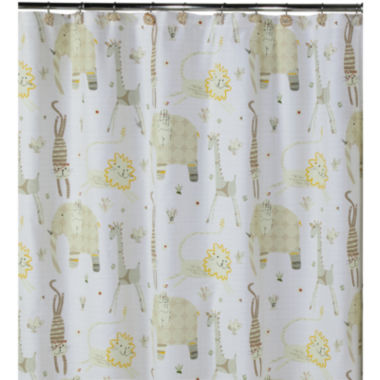jcpenney.com | Creative Bath™ Animal Crackers Shower Curtain
